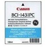 Canon BJ-W 6400 P - Original Canon 8973A001 / BCI-1431PC / Imageprograf6200 Light Cyan Tinte -