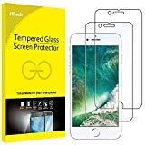 JETech Panzerglas für iPhone 8 und iPhone 7, Gehärtetem Glas Schutzfolie, 2 Stück