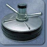 Absperrscheibe mit Bypass (Prüfscheibe) 200 mm