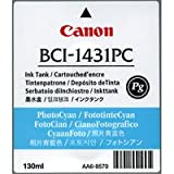 Canon BCI-1431pc Tinte Photo cyan W6200P