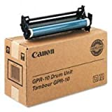 Canon GPR-10 Copier Drum Unit (7815A004AA / 7815A004AB) (24K Page Yield), Works for ImageRunner 1630, ImageRunner 1630f, IR-1300, IR-1310 by Genuine canon (English Manual)