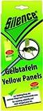 SCHOPF 302195 Silence Klebefalle gegen Pflanzenschädlinge, 6 Tafeln für Obstpflanzen