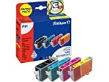 Pelikan P01 Promo Pack, ersetzt Canon BCI-3eBK, -3eC, -3eM, 3eY