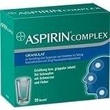 ASPIRIN COMPLEX Btl.m.Gran.z.Herst.e.Susp.z.Einn. 20 St Granulat zur Herstellung einer Suspension zum Einnehmen