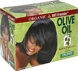 Organic Root Stimulator Olive Oil No-Lye Hair Relaxer Extra Strengh Haarglättungsmittel extra startk nicht für Europäisches Haar geeignet