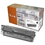 Peach Tonermodul schwarz kompatibel zu Canon, HP CRG-703, Q2612A