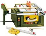Proxxon Tischkreissäge-Feinschnitt FET, 1 Stück, grün / silber / schwarz / gelb / orange / rot, 27070