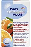 DAS gesunde PLUS Magnesium + Vitamin C + Vitamin B6 + B12 Lutschtabletten, 30 St Nahrungsergänzungsmittel