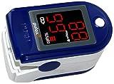 Pulox Pulsoximeter mit LED-Anzeige PO-100, blau
