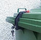 Mülltonnenverriegelung, 60 - 360 Liter, Gleichschließend