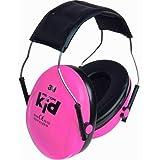 3M Peltor Kid Kapselgehörschutz KIDR, Neon-rosa, SNR = 27 dB