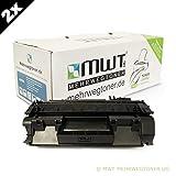2X Kraft Office Supplies XXL Toner für Canon Lasershot LBP 3310 3370 ersetzt 1976B002 715H