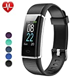 Willful Fitness Armband Herzfrequenz Smart Armband Uhr IP68 Wasserdicht Sport Fitness Tracker...