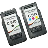 Prestige Cartridge PG-540XL/CL-541XL 2er Pack Druckerpatronen für Canon Pixma MG 2150 2250 3150 3250 3500 3550 3600 3650 4150 4250 MX375 MX395 MX435 MX455 MX475 MX515 MX525 MX535 schwarz dreifarbig
