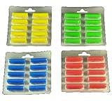 40 Duftstäbchen.grün, gelb, blau, rot Duftis, Noten 'Sommerwiese', 'Lemone', 'Meeresbriese', 'Fruchtfrische'
