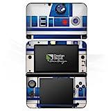 Nintendo 3 DS XL Case Skin Sticker aus Vinyl-Folie Aufkleber Star Wars Merchandise Fanartikel R2D2
