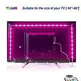 Led TV Hintergrundbeleuchtung,2M USB Led Beleuchtung Hintergrundbeleuchtung Fernseher USB für 40...