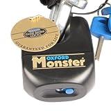 Oxford Monster Ultra Stark Vorhängschloss nur für Motorcyce Ketten Sicherheit neu