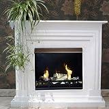 BBT@ / Gelkamin Ethanolkamin Arobia / Für Brenngel oder Bio-Ethanol / BBT-10001170 / Echtes Kamin-Feuer ohne Rauch, Asche oder Staub