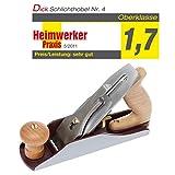 DICTUM Schlichthobel Nr. 4, HSS-Eisen