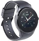 simvalley MOBILE Handyuhr: Handy-Uhr & Smartwatch für iOS & Android mit Bluetooth & Herzfrequenz (Smartwatch mit Simkartenslot)