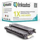Inkadoo Toner kompatibel zu Canon FC 200 Series, CRGE30, E16 & E30, E30, EPE30 1491A003 1491A003AA 1491A003BA, Premium Drucker-Kartusche Alternativ, Schwarz, 4000 Seiten