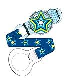 MAM 66470011 - Twist Clip, Schnullerband für Jungen