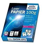 Avery Zweckform 2562 Laser Druckerpapier (A4, 100 g/m², blickdicht, seidenmatt) 500 Blatt hochweiß
