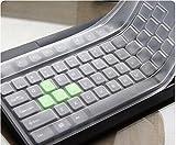 Ruihcury Produkt Tastaturabdeckung, Universal PC Wasserdichte Silikon Desktop Tastatur...