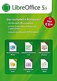 LibreOffice Software 5.3 Special Edition für Windows 10, 8.1, 7, Vista und XP - kompatibel zu...