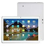 Fcostume 10,1'Zoll MT 6582M Quad-Core 1G + 16G Android 4.4 Dual-SIM-Dual-Kamera-Telefon-Pad (Weiß)
