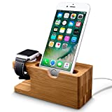 Iphone Ladestation und Apple Watch Ladestation, Fullmosa® Dockingstationen Handy Halterung für...