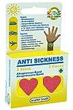 scarlet health | Akupressurband »Sea«; 1 Paar Akupressurbänder für Erwachsene und Kinder; Anti-Übelkeit, Seekrankheit, Band (Herz)