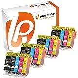 Bubprint 20 Druckerpatronen kompatibel für Canon PGI-525 CLI-526 für Pixma IP4850 IP4950 IX6550 MG5150 MG5250 MG5350 MG6150 MG6250 MG8150 MG8250 MX710