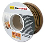 fix-o-moll D-Profildichtung Bobin 50 m 6 x 9 mm selbstklebend braun, 3585270