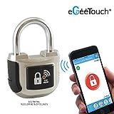 eGeeTouch Intelligentes Vorhängeschloss, 2. Generation,  mit patentierten Dual-Bluetooth +...