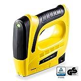 TROTEC 4460000101 Akku-Tacker PTNS 10‑3,6V DIY Auslösesicherung und Füllstandsanzeige inkl. Nägel