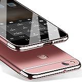 Huawei P10 Lite 5,2 Zoll Hülle, MSVII® 3-in-1 Design PC Hülle Schutzhülle Case Und Displayschutzfolie für Huawei P10 Lite 5,2 Zoll (Nicht mit Huawei P10 kompatibel) - Rose Gold JY50022