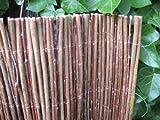 Weidenzaun Weidenmatte Sichtschutz versch. Größen (75 x 300cm)