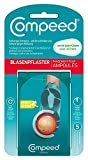 Compeed Blasenpflaster unter den Füßen, Spezielle Pflasterform für Blasen an den Fußballen, Extradickes Polster für Schutz vor weiterer Reibung, 6,6 x 4,0 cm, 1er Pack (1 x 5 Stück)
