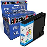 Alaskaprint Druckerpatrone kompatibel für Canon PGI-2500XL PGI 2500XL C Cyan Blau Canon Maxify MB5150 Canon Maxify MB5450 MB5350 MB5050 iB4050 MB5155 iB4150 MB5455 MB 5150 5450 5350 5050 5155 5455 IB 4150 4050 Drucker Tinte Patronen (Canon 2500 XL Patronen)