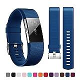 Fitbit Charge 2 Armband,Kutop TPU weiches Silikon Sporty Ersetzerband Silikagel Fitness verstellbares Uhrenarmband für Fitbit Charge 2