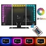 Vansky® 2M LED TV Hintergrundbeleuchtung für HDTV / Gaming PC LED Streifen Home Multi Farbe RGB...