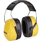 PRETEX Professioneller Kapselgehörschutz für Lärmpegel bis 98 dB mit hohem Tragekomfort durch geringes Gewicht und stufenlos verstellbare Kopfbügel | 2 Jahre Zufriedenheitsgarantie | Gehörschutz, Ohrenschutz, Lärmschutz, Ohrenschoner