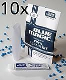 10x BLUE MAGIC Reparatur-Set Kleber und Flicken für Wasserbett, Pool, Planschbecken, Wasserbälle etc.
