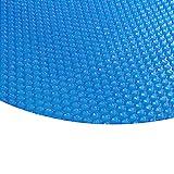 Zelsius - Runde Solarfolie Poolheizung Solarplane , blau - 400µ - 3,6 Meter Durchmesser
