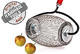 Apfel-Sammler - Sammelt Fallobst Äpfel ohne Bücken! Der cleverste Gartenhelfer aller Zeiten! Die ideale Geschenkidee. Leichtgewichtig und umweltfreundlich.