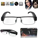 Flylinktech 2015 Fashion Brille Neueste Zwei-Tasten HD 1920  1080 Spion Kamera Glasses 1080P DV DVR...