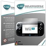 2 x Slabo Displayschutzfolie Nintendo Wii U (Controller) Displayschutz Schutzfolie 'No...