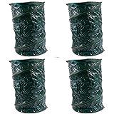 4x Gartenabfalltonne Pop Up faltbarer Gartensack 120Liter Laubsack aus stabilen Oxford Nylon bis 50 Kilo (4 Stück)